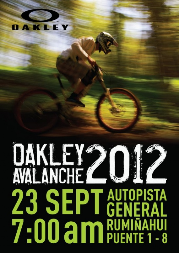 Oakley Avalanche 2012